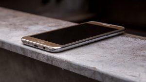 Samsung Galaxy J5 at an angle