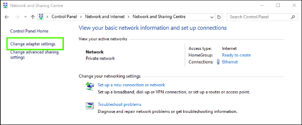 How to fix ERR_NETWORK_CHANGED errors in Windows-2