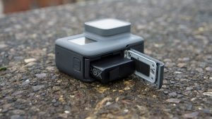 GoPro Hero 5 battery compartment