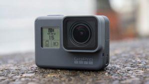GoPro Hero 5 LCD display