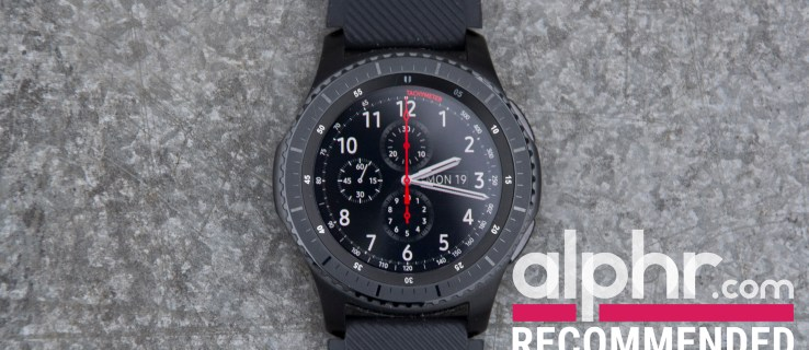 Samsung Gear S3 review: A chunky but top-notch smartwatch