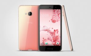 HTC U Play rose gold
