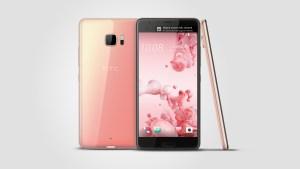 HTC U Ultra rose gold