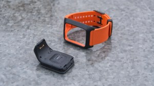TomTom Adventurer watch module and strap separated