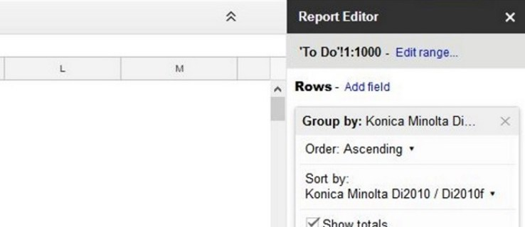 How To Create, Edit and Refresh Pivot Tables in Google Sheets