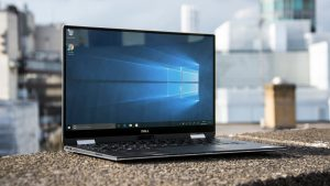Dell XPS 13 2-in-1 angle