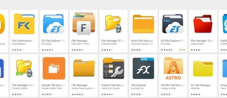 Cómo descargar y ver todos sus archivos de Android