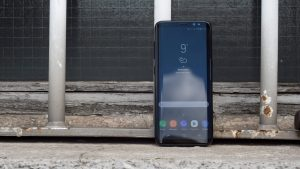 Samsung Galaxy S8 review front