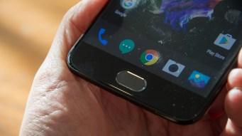 OnePlus 5 fingerprint reader