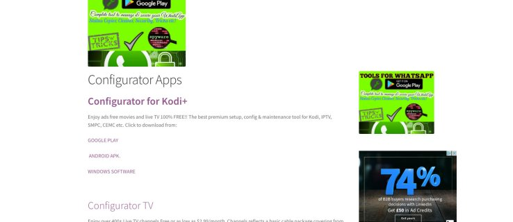 How to use Kodi Configurator