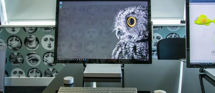 Microsoft Surface Studio head on