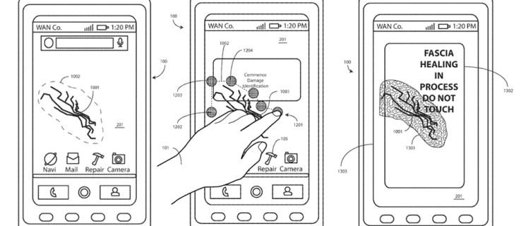 Motorola patents a self-healing phone screen