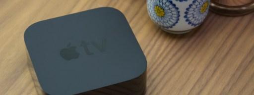 Apple TV 4K top