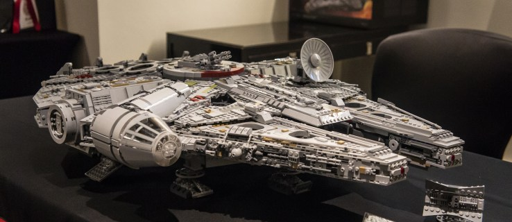 This Lego Millennium Falcon kit is the biggest and most expensive set yet, and it's back in stock