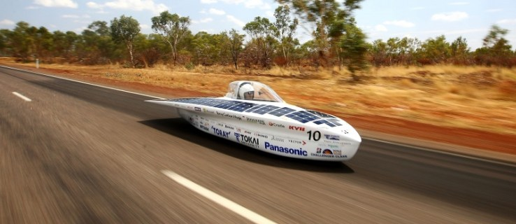The world's biggest solar-powered car race just started in Australia