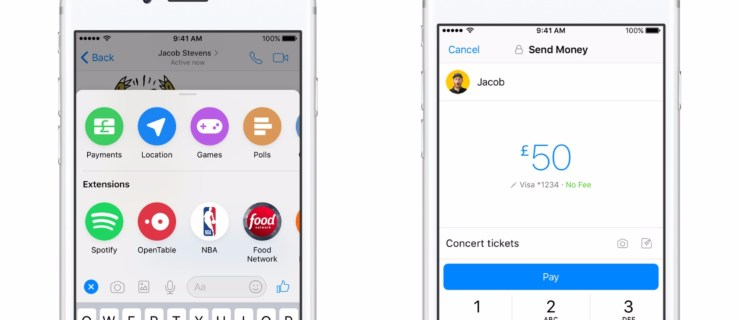 Facebook launches Messenger Payments in the UK