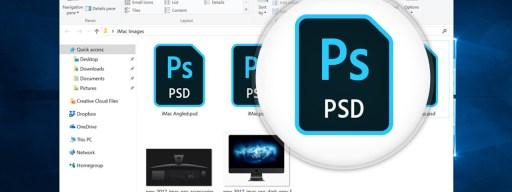 file explorer psd preview icon
