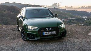 Audi RS4 Avant front