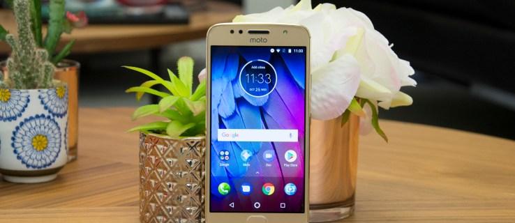 Motorola Moto G5S front