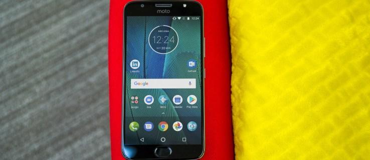 Motorola Moto G5S Plus front