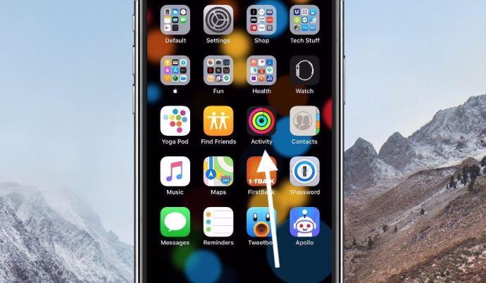Activity App on iPhone