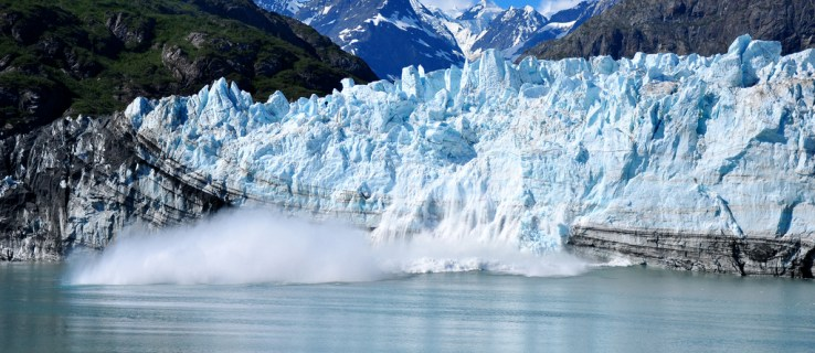 Global warming is changing Earth's SHAPE: Melting glaciers are causing the bottom of the ocean to sink