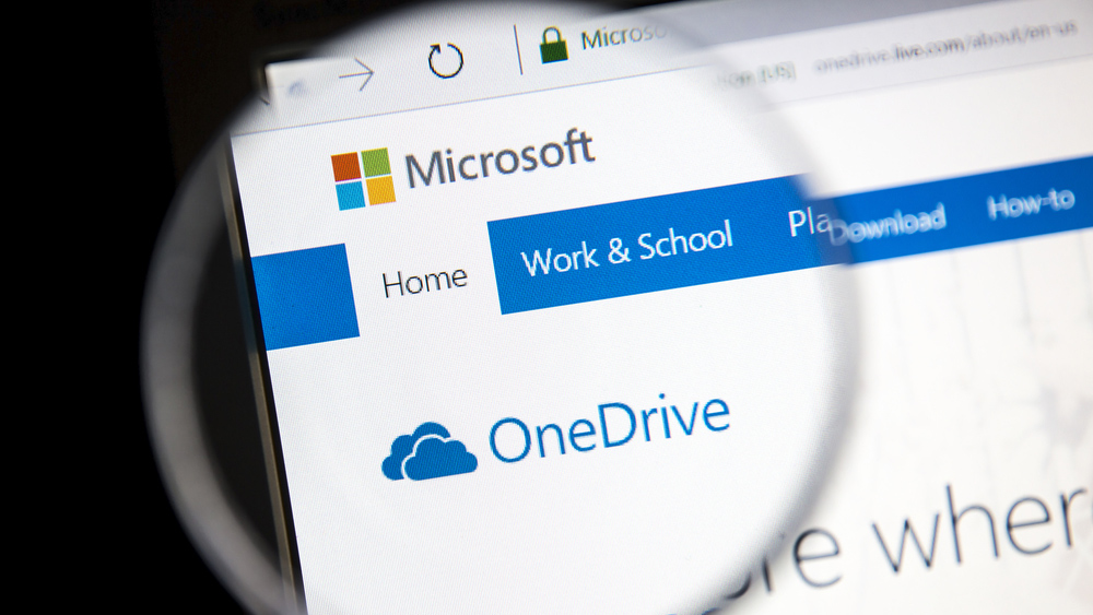 free cloud storage provided when you create a microsoft account