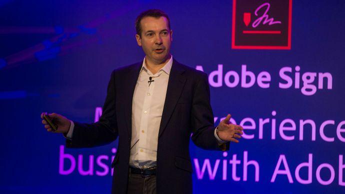 Adobe head of emerging business EMEA Mark Greenaway