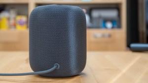 Apple HomePod rear