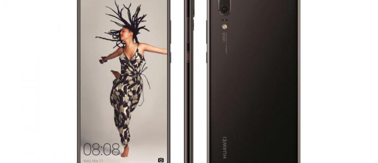 Huawei P20 release date and price: We now have our first look of the P20