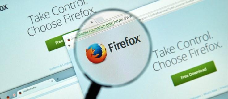 La actualización de Firefox toma medidas contra el seguimiento entre sitios