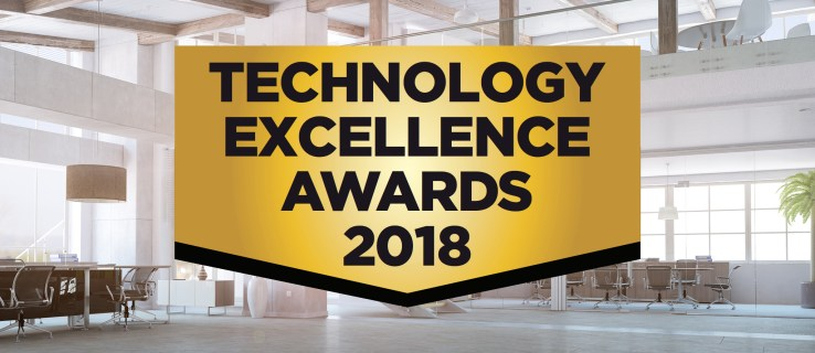 The Technology Excellence Awards 2018: The top brands and best products of the year