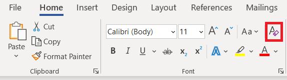 Office Format settings
