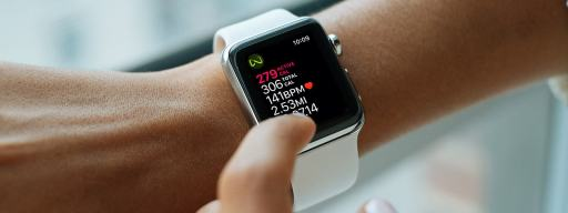 apple watch track calories