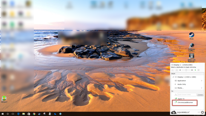 AirParrot Windows Chromecast