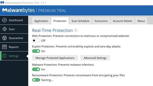 Malwarebytes Protection