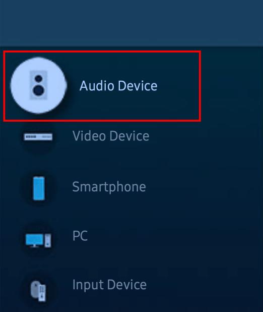 Samsung TV pair Bluetooth devices 02