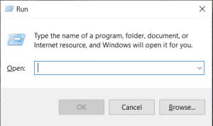 Windows 10 Run program