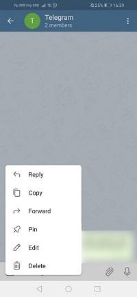 телеграмма получить закрепленное сообщение обратно
