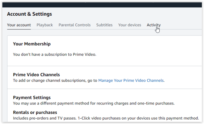 How To Remove Your History And Watchlist From Amazon Prime Video