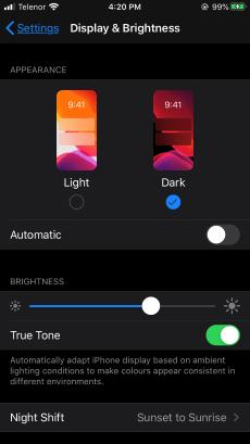 Enable Dark Mode Facebook