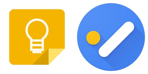 Разница между Google Keep и Задачами