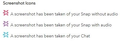 Screenshot Icons