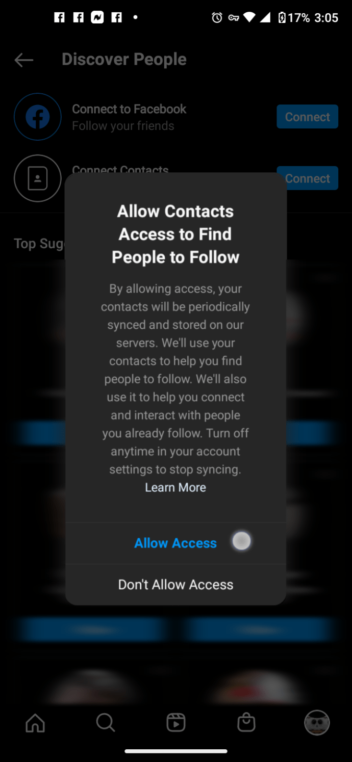 Find Your Contacts on Instagram