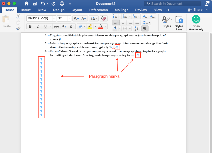 How To Delete A Page Or Whitespace From Word - Remove Line Spacing In Table Word
