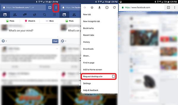 Www facebook com login mobile site