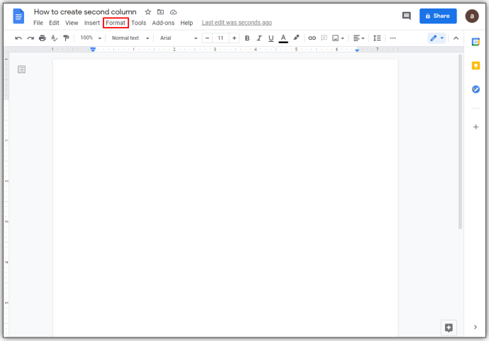 Cara Membuat 2 kolom Di Google Docs