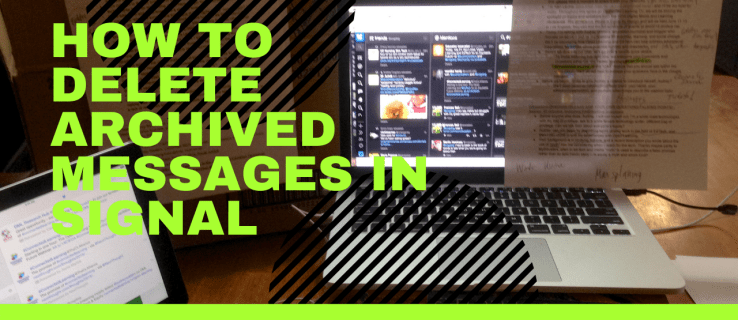 How to Delete Archived Messages in Signal