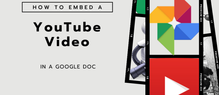How to Embed a YouTube Video in a Google Doc