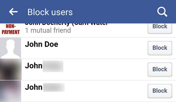 Facebook you when blocks someone on How to